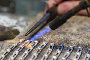 soldering silver jewelry